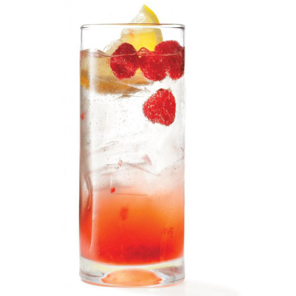 Canada Day cocktail