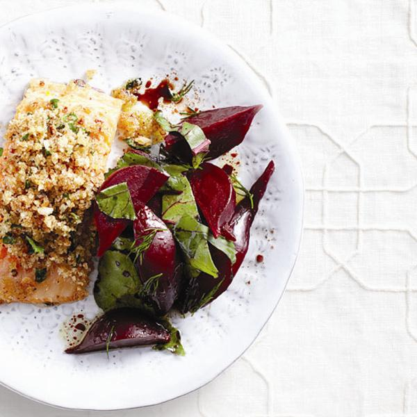 Dillicious beet salad