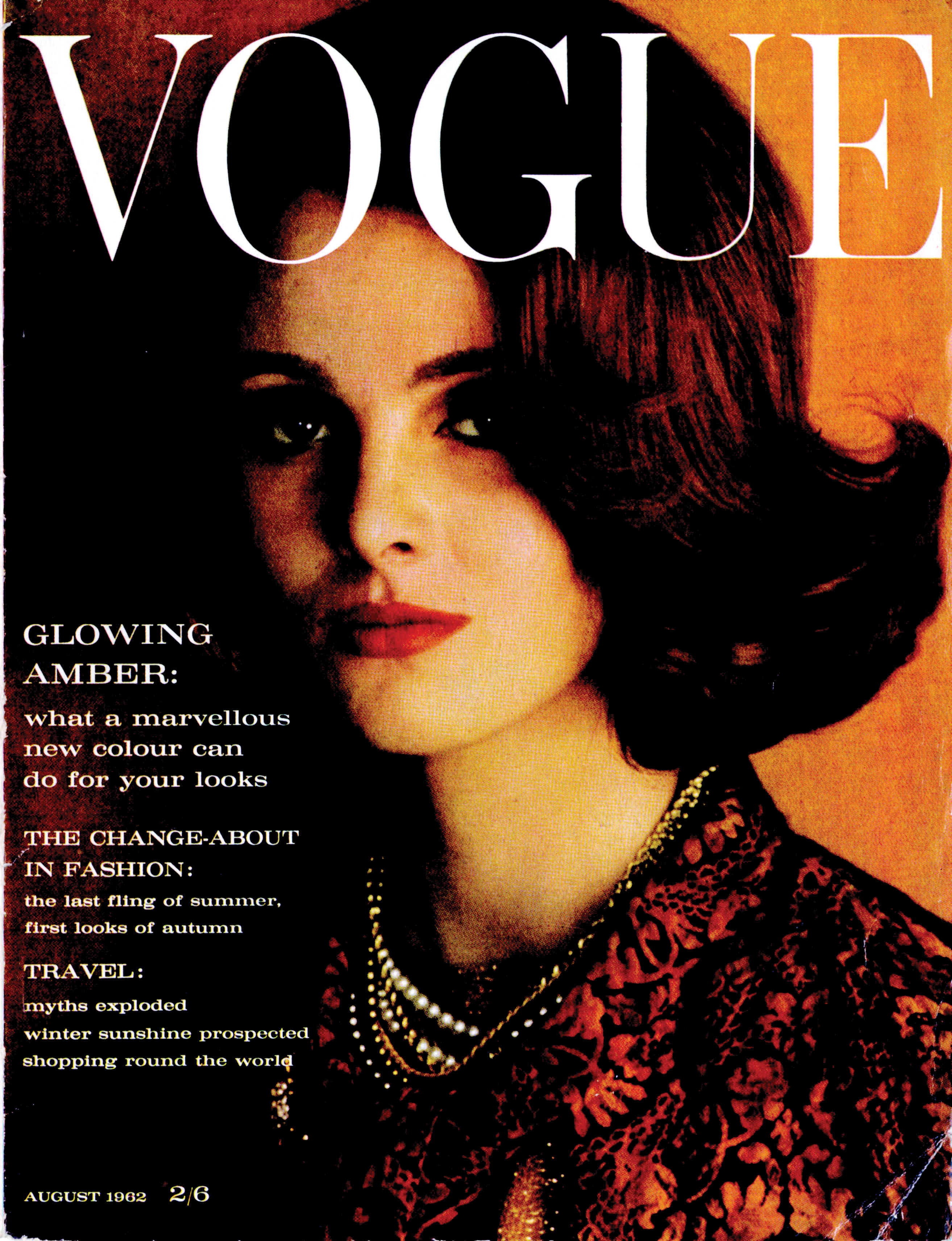 623a43d65e76 Grace Coddington on cover of Vogue magazine, Jan 12, p125