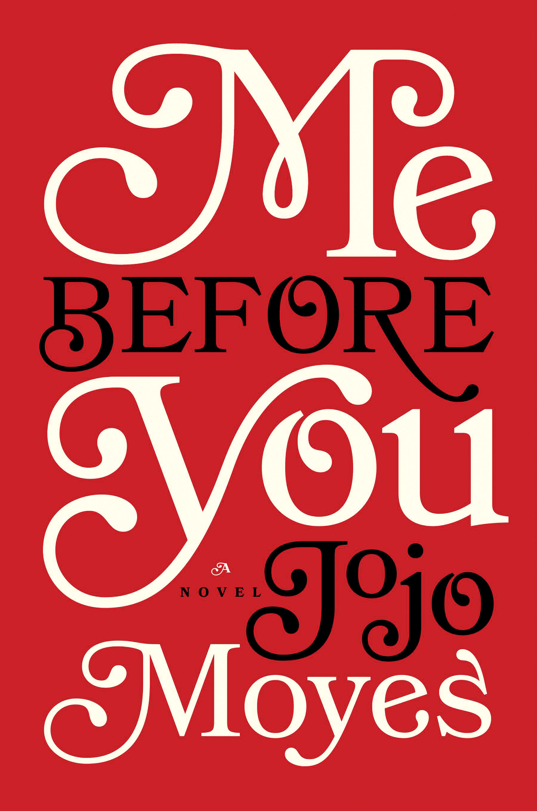 Me Before You book cover, Jan 12, p122