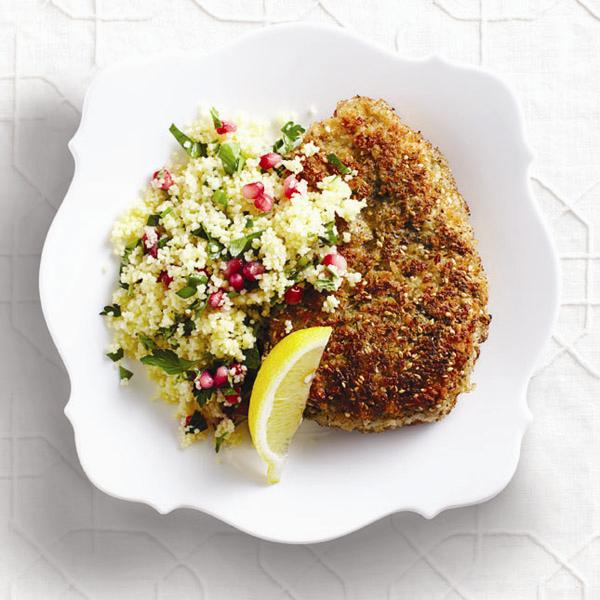 Middle Eastern crispy chicken recipe