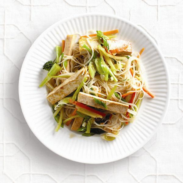 One-dish Asian noodles