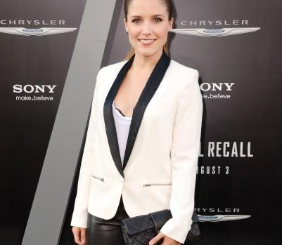 Sophia Bush White Tuxedo Jacket, Jan 13, p34