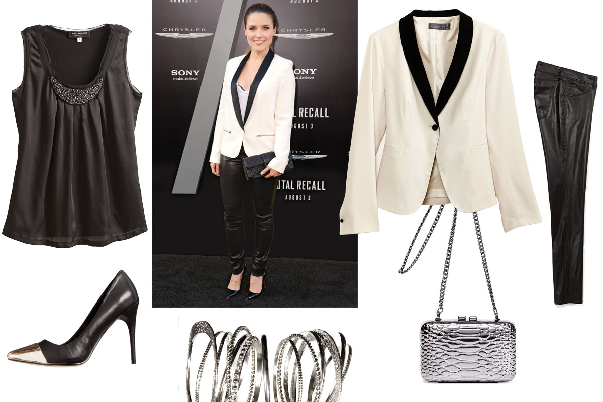 10f20f13a3d How to wear a tuxedo jacket for women - chatelaine.com