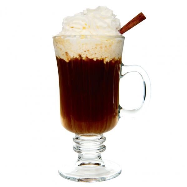 Campfire coffee cocktail