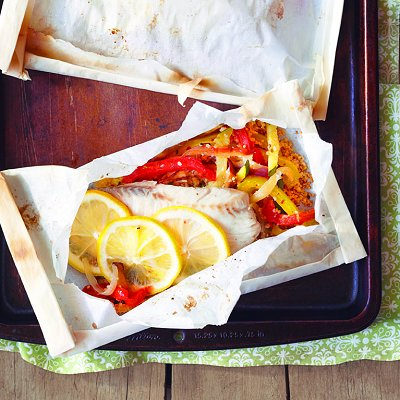 cooking fish in parchment paper Want an easy recipe for baked fish find out how you can use parchment paper to prepare and cook fish and a number of easy recipes with tips from reynolds kitchens.