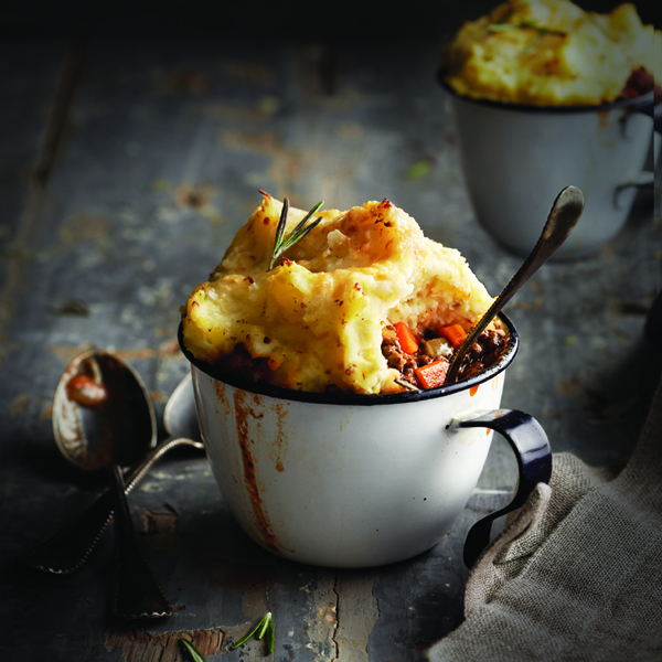 Comfort food: Shepherd's pie