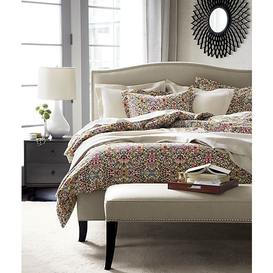 10 gorgeous duvet covers for Crate barrel comforter