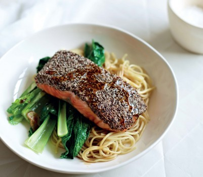 Supergrains Chia Crusted Salmon recipe