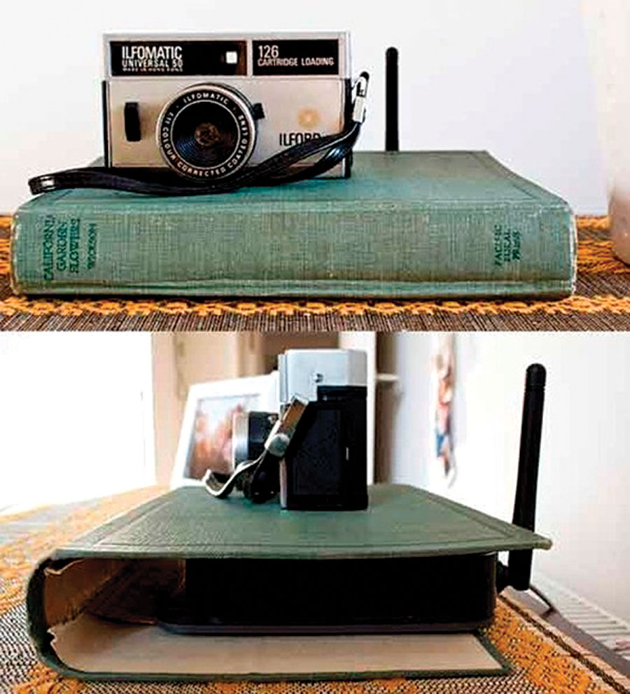 book-cover-internet-router-home-organizing