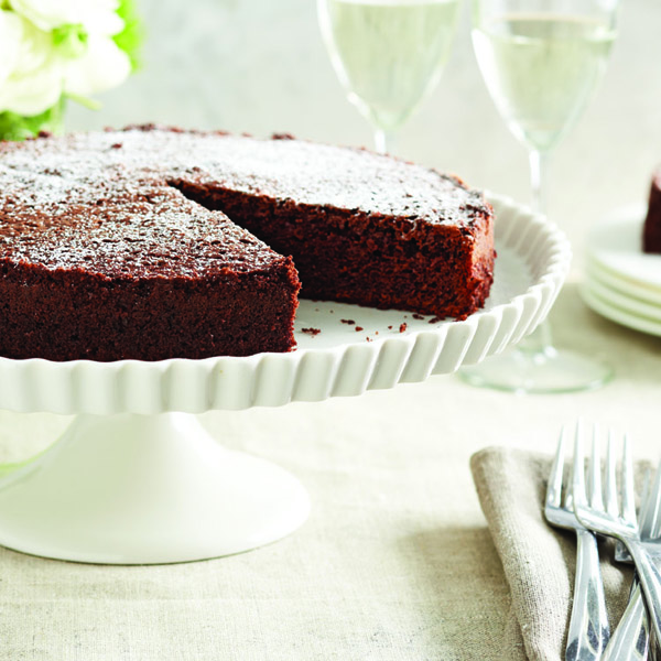 Olive Oil Chocolate Cake Chatelaine
