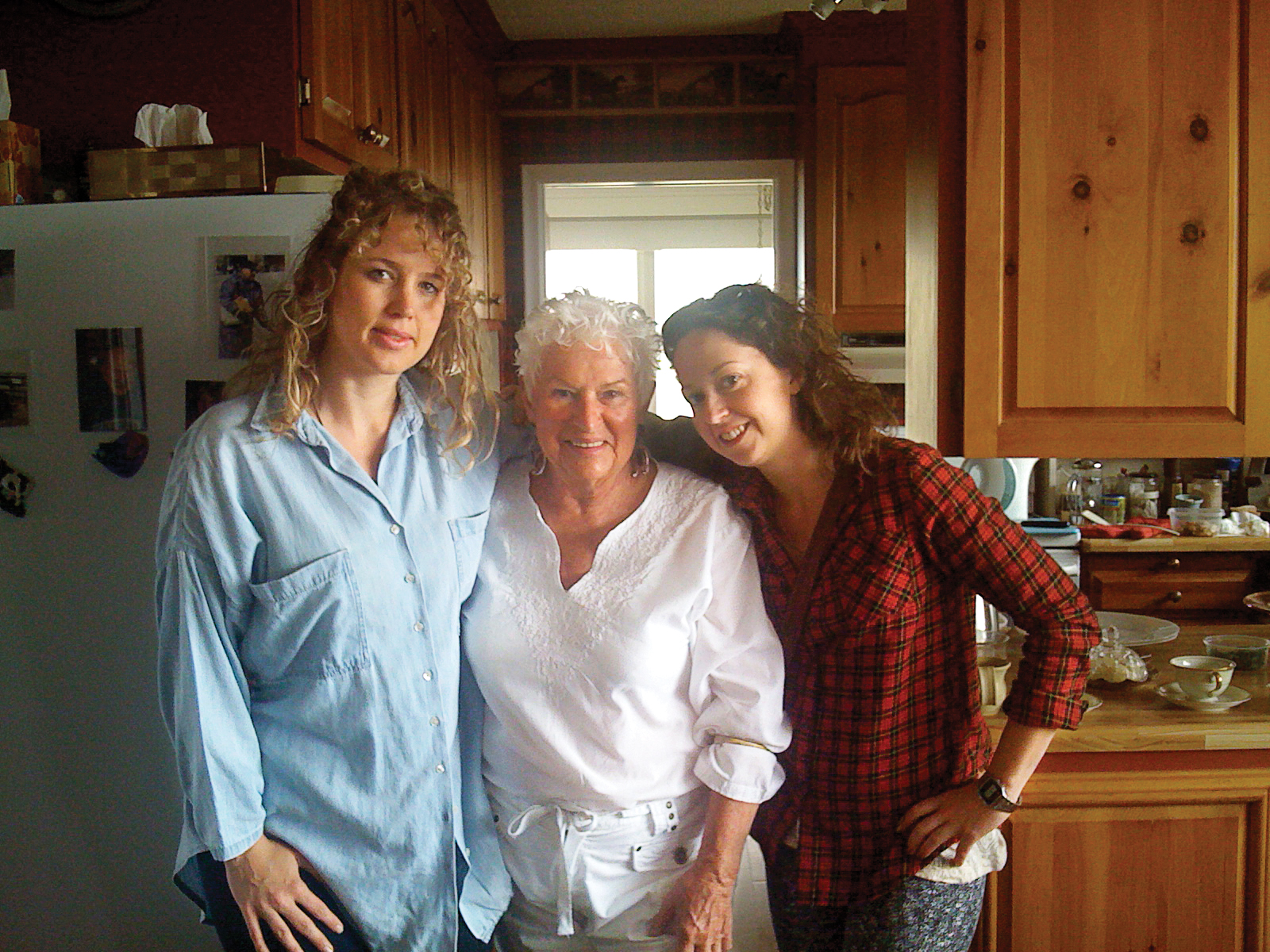 Barbara with guests Jessica Beresford (left) and Chatelaine editor Alex Laws