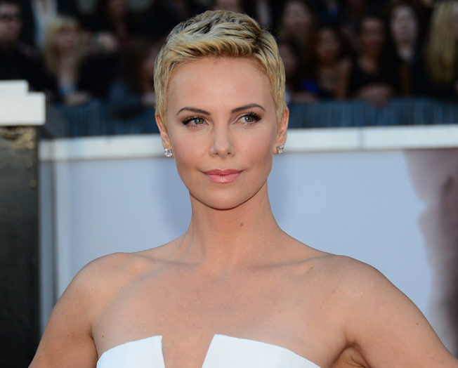 Get perfect posture like Charlize Theron