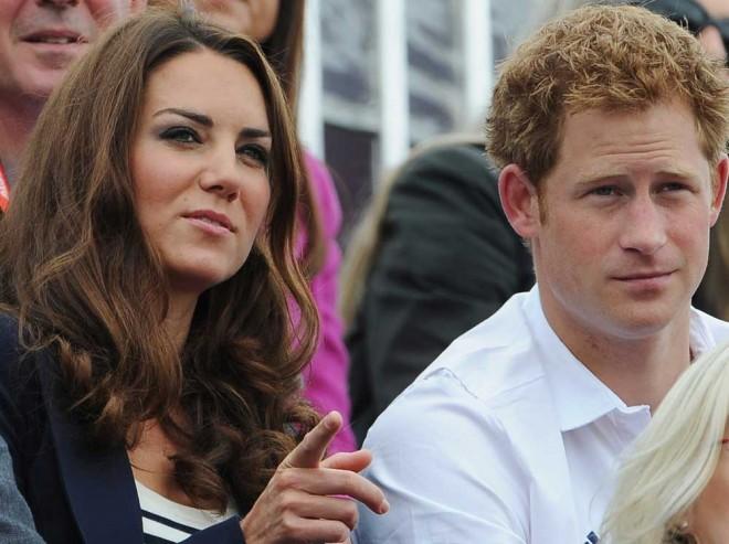 Catherine, Duchess of Cambridge and Prince Harry