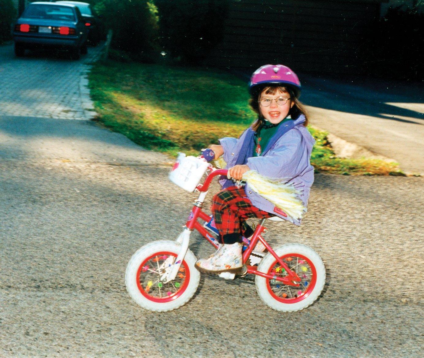 Molly Burke Kid On Bike April 13 p168