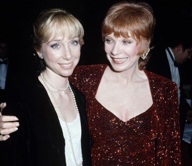 Sachi Parker and mom Shirley MacLaine