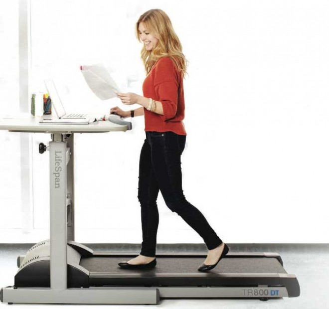 Treadmill For Desk At Work: Treadmill Desk: What It's Really Like Working At One