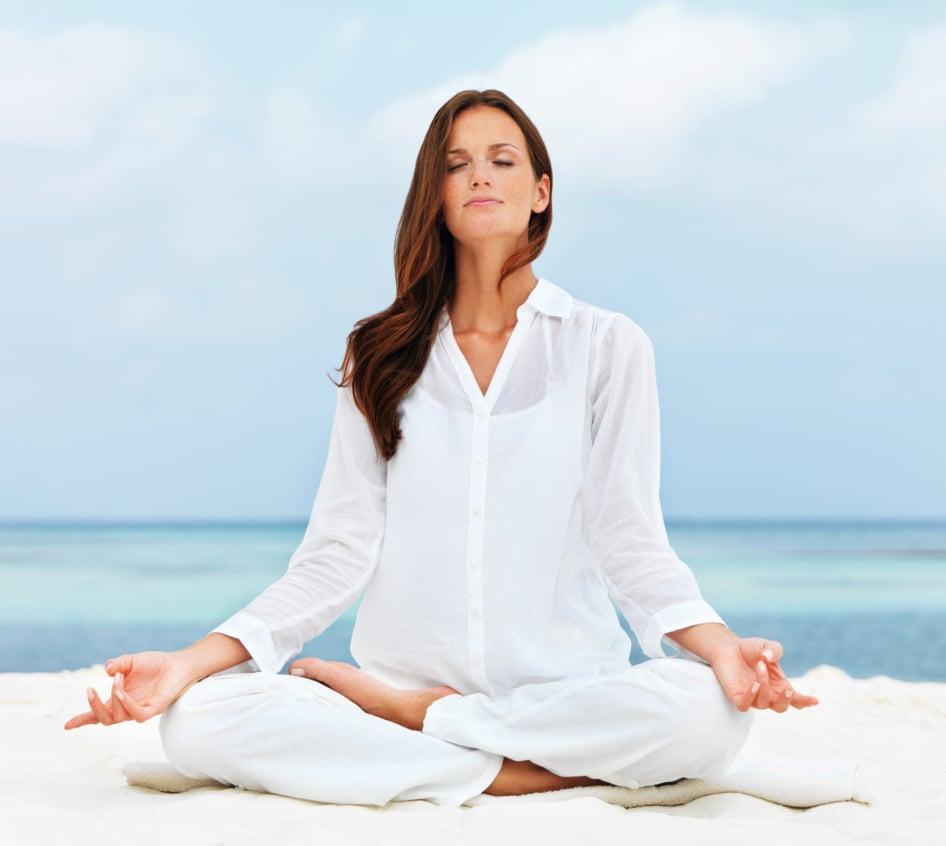Yoga Meditation Pose Seven yoga pose...