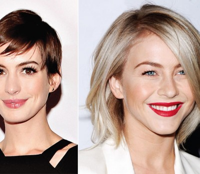 Anne Hathaway and Julianne Hough