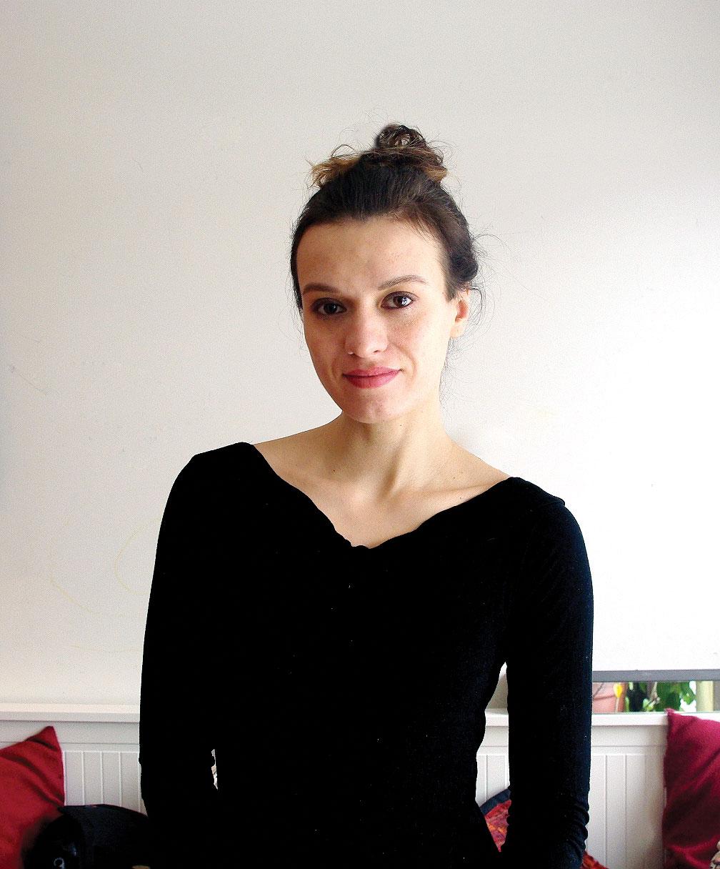 Jowita Bydlowska, author of Drunk Mom