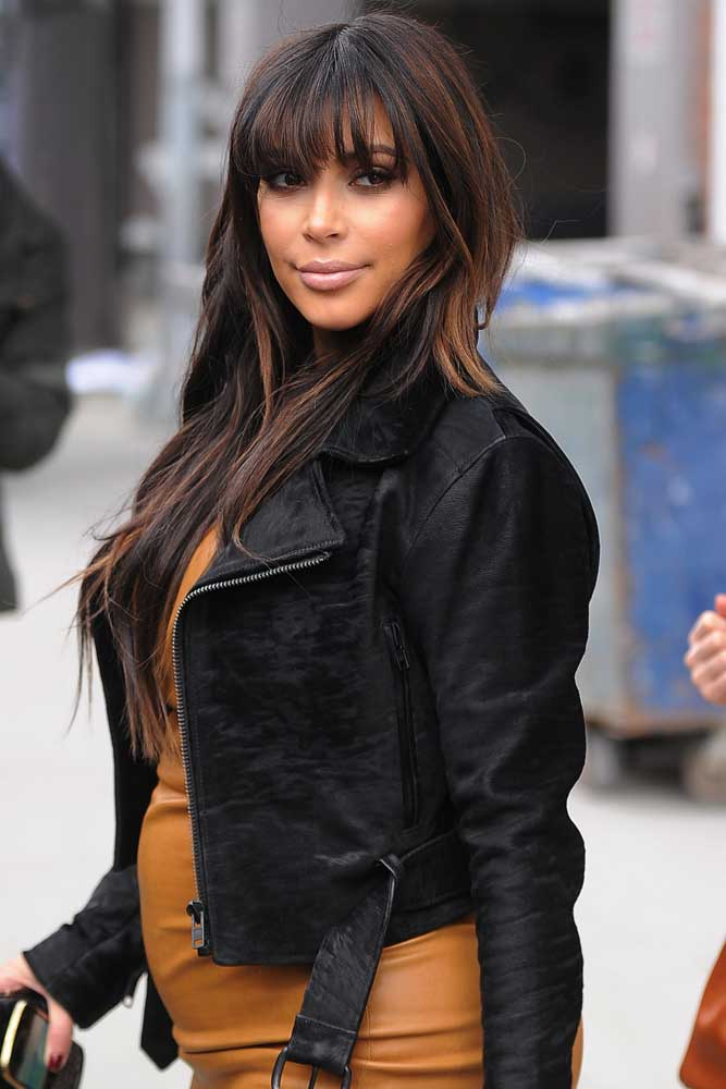 Kim Kardashian is seen in Soho on March 26, 2013 in New York City. (Photo by Josiah Kamau/BuzzFoto/FilmMagic)