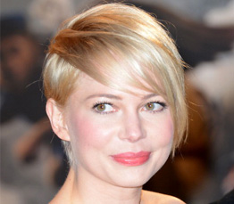 Michelle Williams hair cut