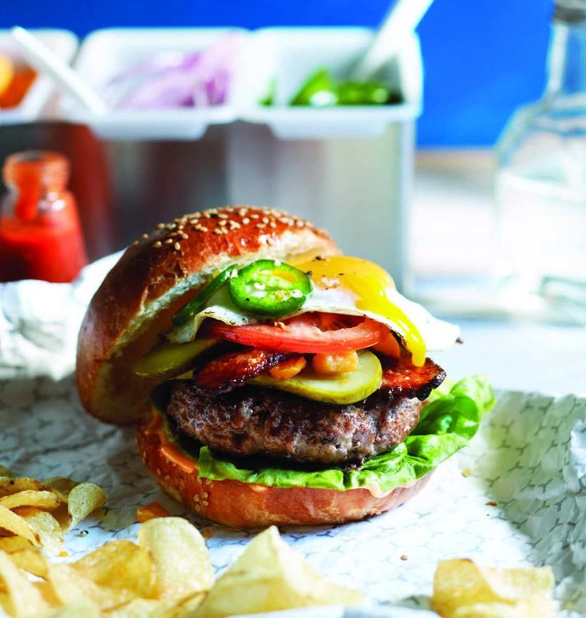 The whole truck burger recipe Photo by Roberto Caruso