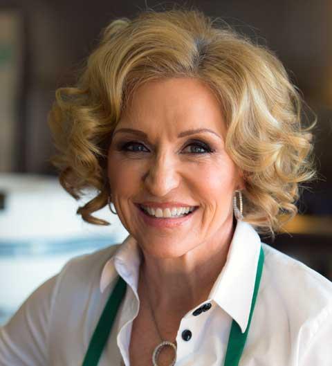 Author Tosca Reno in Toronto, March 2013
