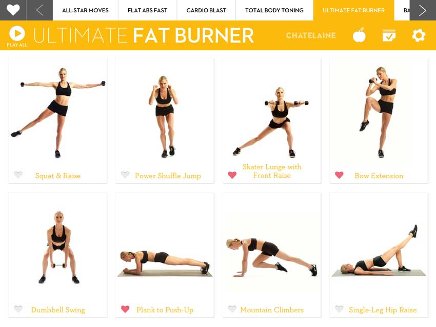 Get one of the most-downloaded fitness apps!