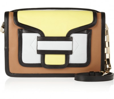 Pierre Hardy colour-block bag