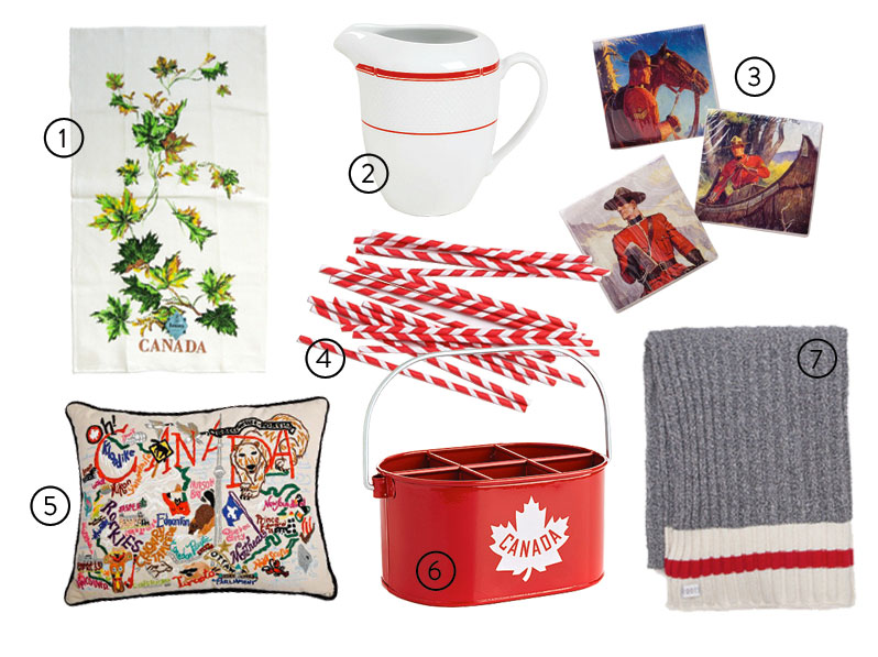 Seven canada day accessories to show off your national pride for Home decor online canada