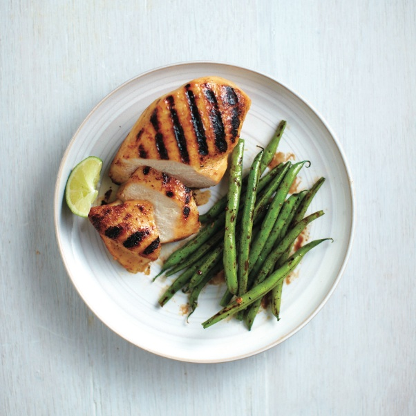 Grilled five-spice chicken