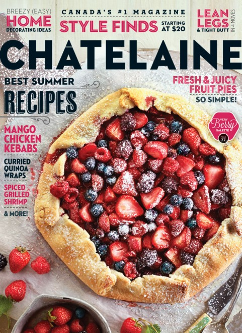 Chatelaine 2013 August cover magazine