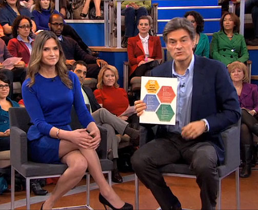 Natasha Turner shares her hormone-balancing tips with Dr. Oz