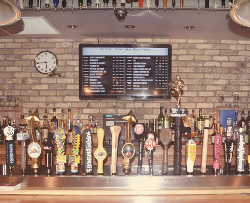 Milos' Craft Beer Emporium Photo by Laura Janecka