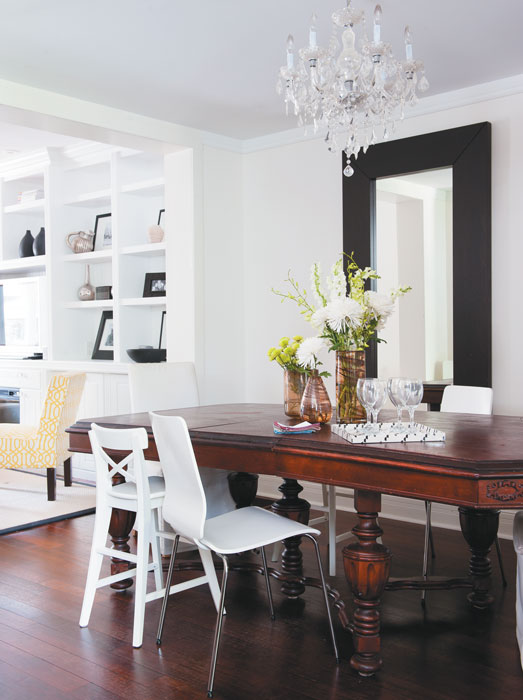 organizational tips for home decorating to create a functional family home chatelaine. Black Bedroom Furniture Sets. Home Design Ideas