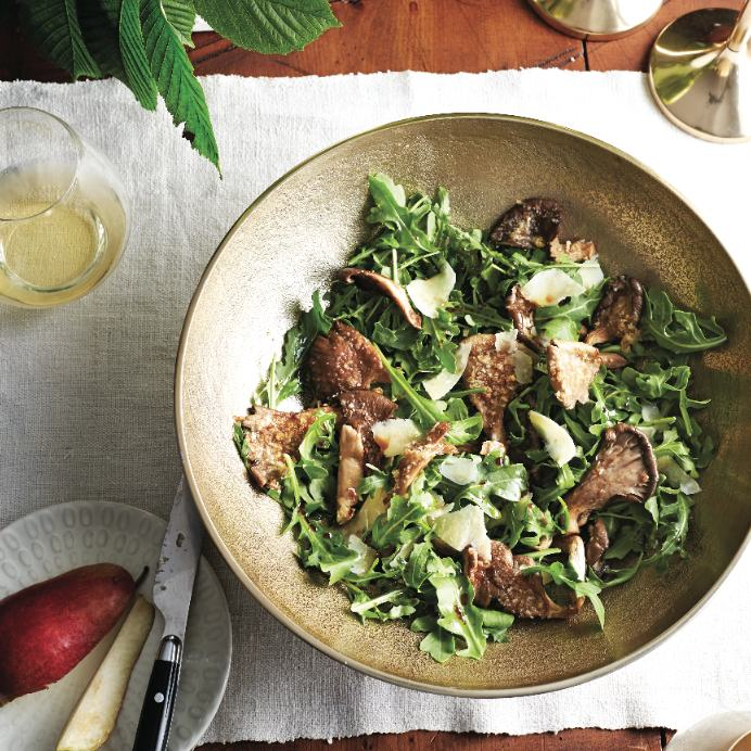 Warm mushroom-arugula salad recipe - Chatelaine