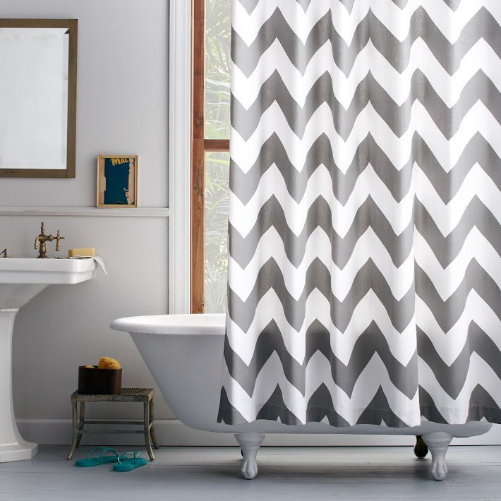 Five sewing projects for the home chatelaine for Zig zag bathroom decor