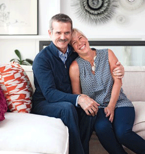 Chris-Hadfield-with-wife-Helene