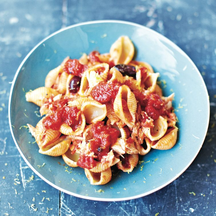 Jamie Oliver's Puttanesca pasta recipe