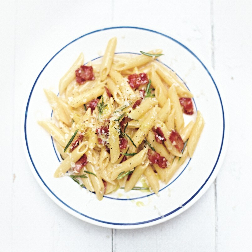Jamie's British Carbonara recipe