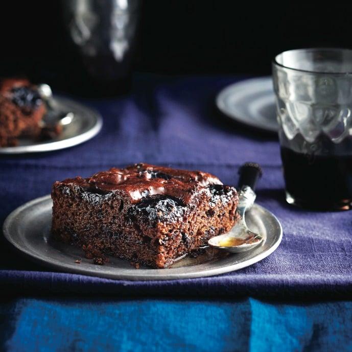 Sticky chocolate loaf recipe