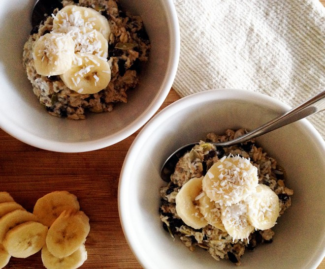 Tara Miller's healthy morning muesli recipe
