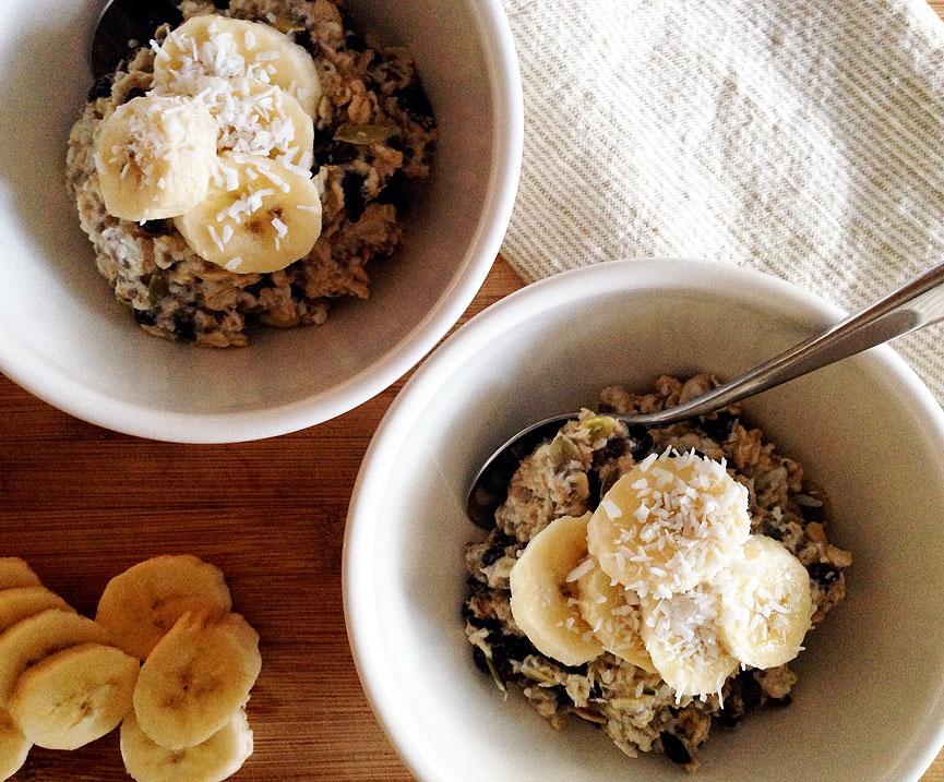 Tara Miller's healthy morning muesli recipe