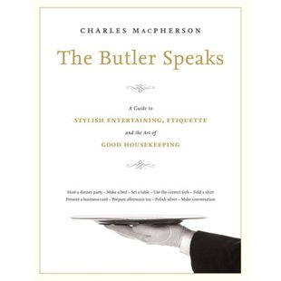 The Butler Speaks by Charles MacPherson book cover