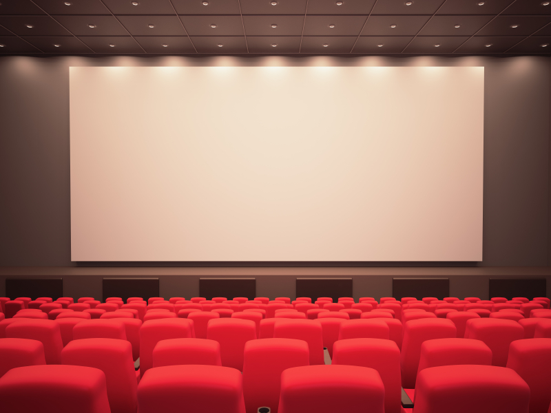 movie theatre screen