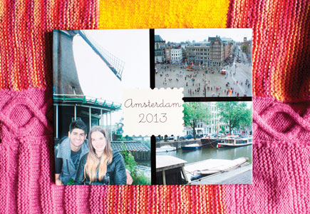 Snaps from her recent trip to Amsterdam with her boyfriend