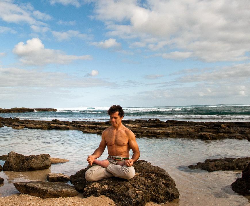 Learn the principles of meditation from Eoin Finn