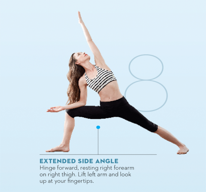 Tara-Stiles-yoga-workout-for-strength-extended-side-angle-pose