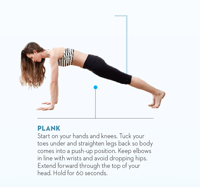 Tara-Stiles-yoga-workout-for-strength-plank-pose